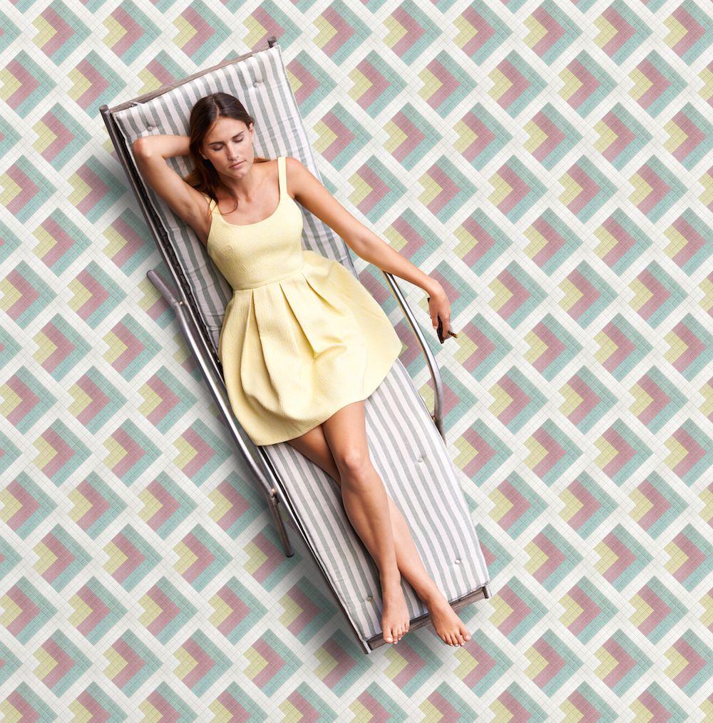 Mozaika INDIO z kolekce Welcome to Palm Springs španělského výrobce Hisbalit