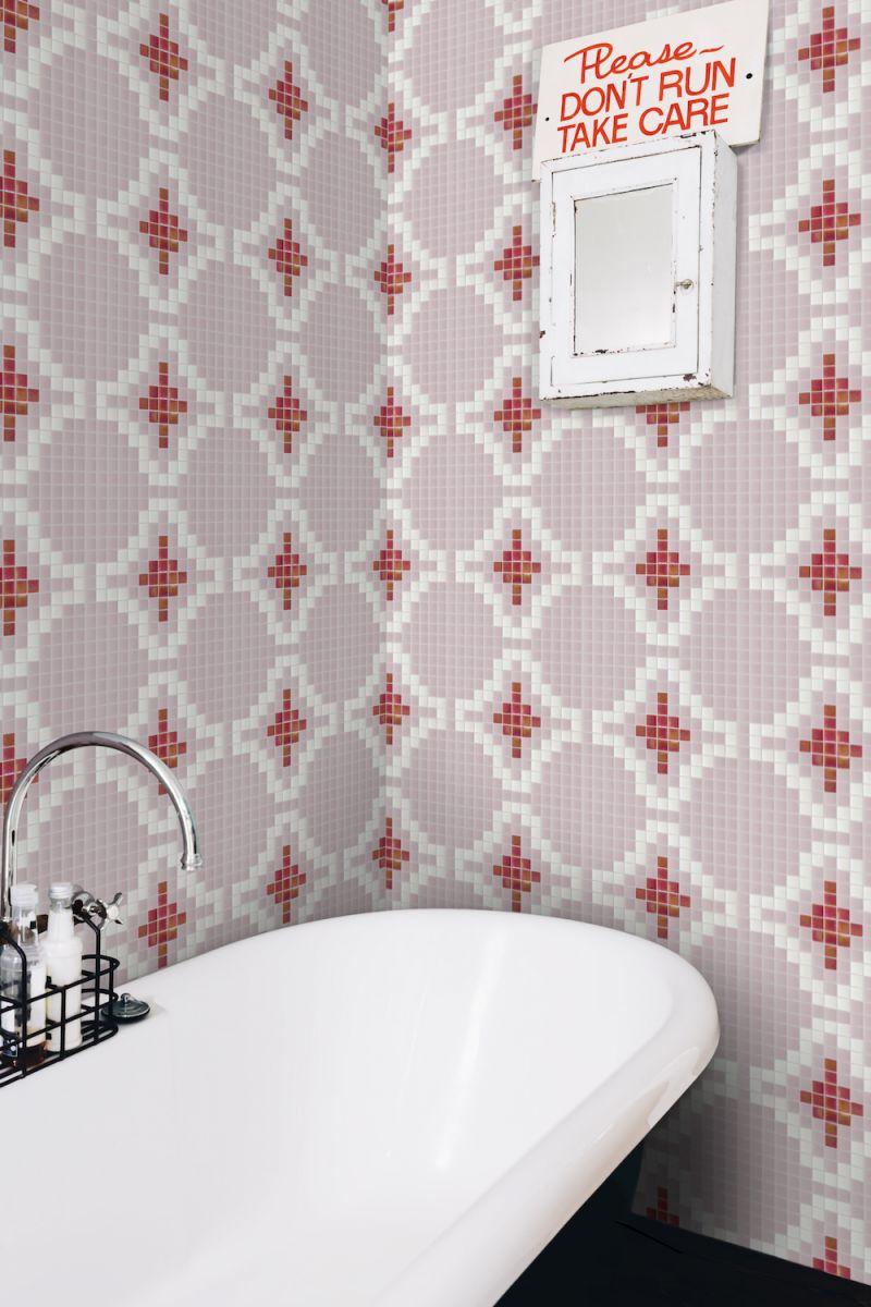 Mozaika DUNES z kolekce Welcome to Palm Springs španělského výrobce Hisbalit