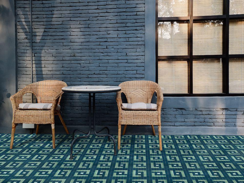Mozaika PALM z kolekce Welcome to Palm Springs španělského výrobce Hisbalit