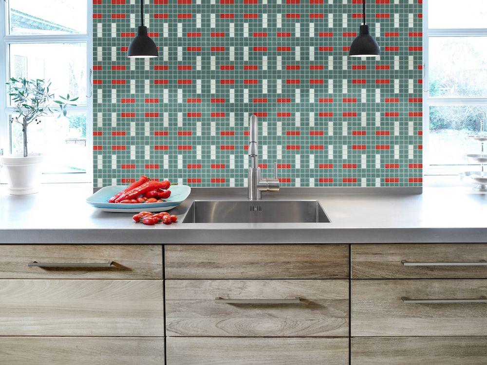 Mozaika ANZA z kolekce Welcome to Palm Springs španělského výrobce Hisbalit