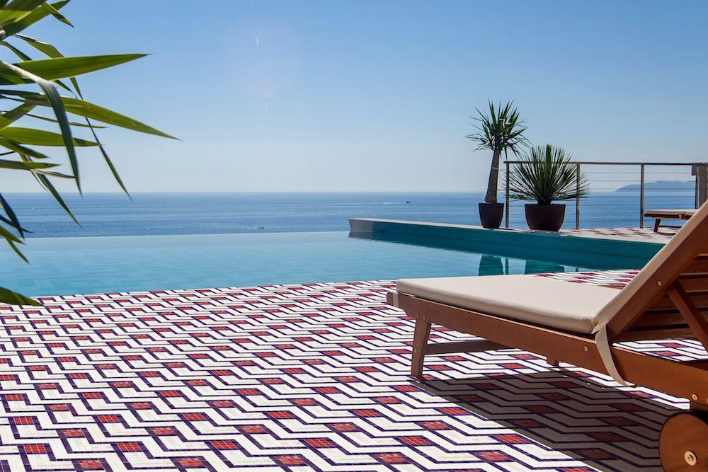 Mozaika COACHELLA z kolekce Welcome to Palm Springs španělského výrobce Hisbalit